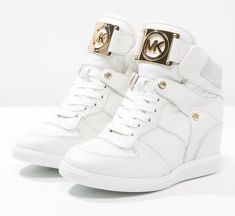 Assez MICHAEL Michael Kors NIKKO Baskets montantes optic white, Baskets JA91 472efc6e14aa
