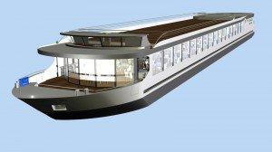 Le Diamant Bleu se construit à Liège - Monsin ! | Le chantier naval Meuse et Sambre