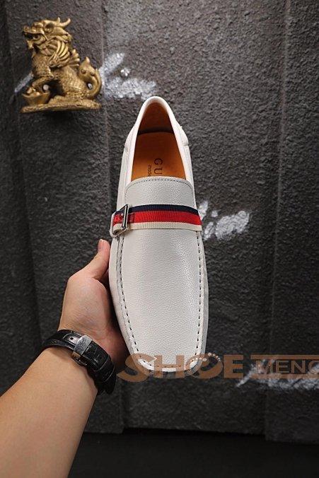 热烈推荐2017夏の靴ブランドコピーGucci公式の完壁な品質N級品§品牌偽物ブランド靴メンズ 靴NO.24174绝賛発売♪♫ゴルフ&運転多用シューズ