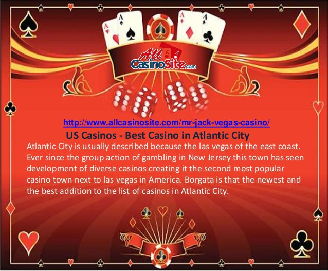 Atlantic City is usually described because the las vegas of the east coast. Ever since the group action of gambling in New Jersey this town has seen developmen…