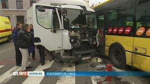 Plusieurs blessés lors d'une collision entre un bus et un camion à Gosselies - Vidéo - RTL Vidéos