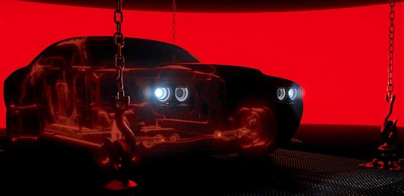Latest Challenger SRT Demon being teased