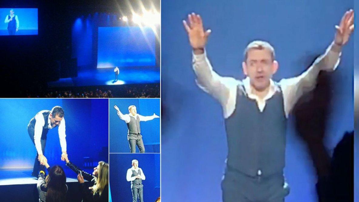 """Dany Boon : ses """"adieux"""" émouvants à la scène au Zénith de Lille"""