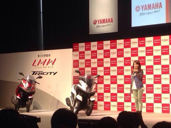 Twitter / Oshima__Yuko : 二輪免許取ります! CMもstart♪( ´θ`) #TRI ...