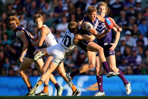 AFL Live – Round 17 – Fremantle vs GWS Giants – 13th July