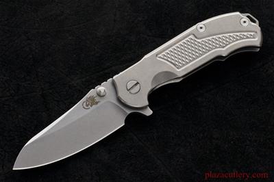 Hinderer MP1 Titanium Handle and Stonewashed Blade