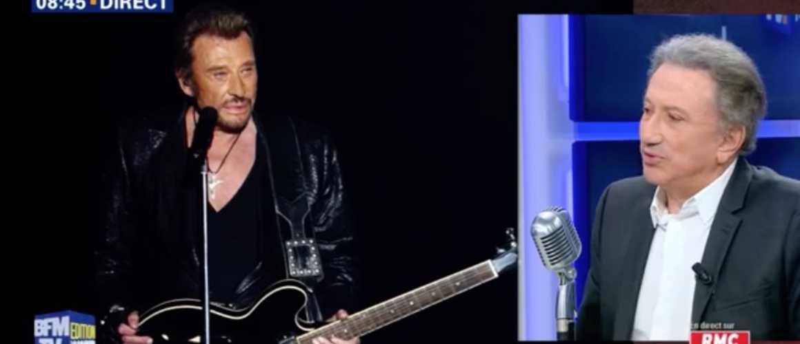 Michel Drucker explique ses larmes lors de son hommage à Johnny Hallyday