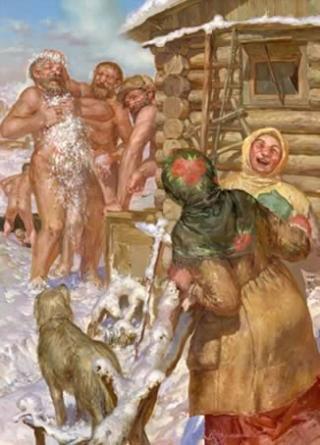 Для всех и обо всем: Русская баня история