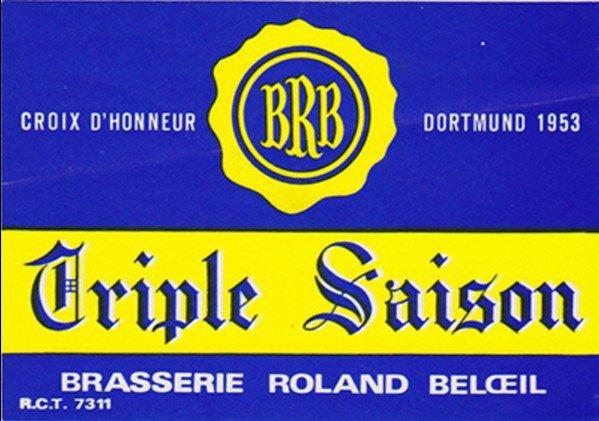 Br. Roland Beloeil (BRB) - Triple Saison (10 cm) Croix D'Honneur Do...