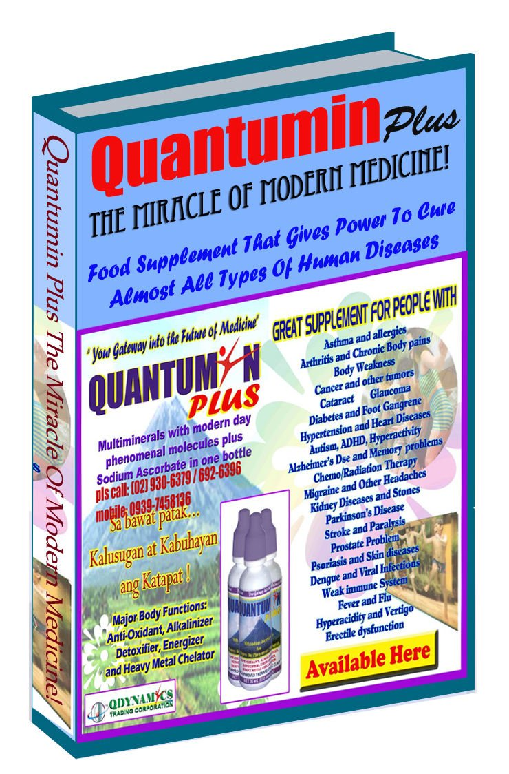 QUANTUMIN PLUS THE MIRACLE OF MODERN MEDICINE!