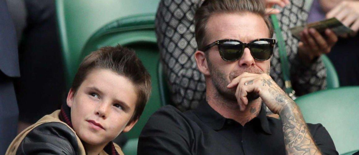 Le plus jeune fils des Beckham se lance dans la chanson !
