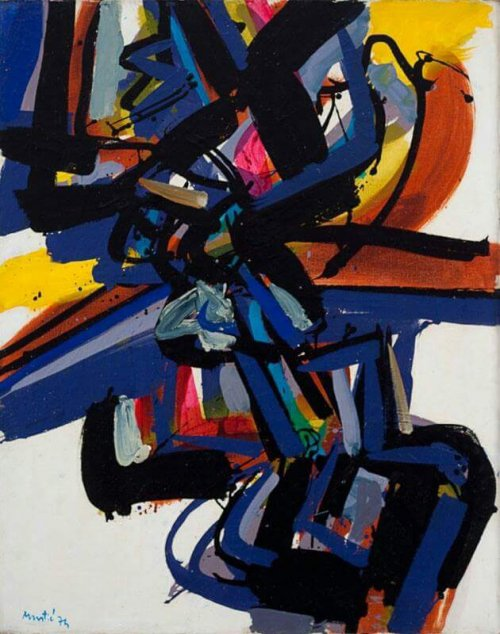 Exposition Art Blog: Edo Murtić - Croatian Art - Lyrical Abstraction