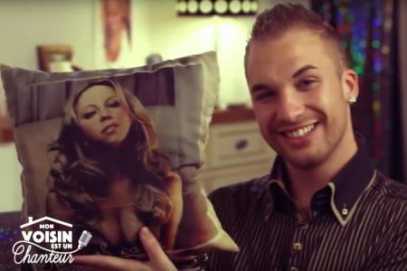 Fan de Mariah Carey, le Rémois Mike Bourgeois chante sur W9