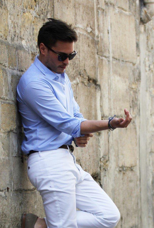 Style italien : Comment porter le jean ou le pantalon blanc ? (+test De Fursac) | BONNEGUEULE