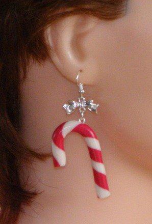 Boucle d'oreille Sucre d'orge Argent 925 : Boucles d'oreille par jl-bijoux-creation