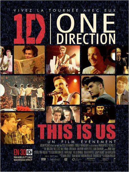 """L'avant premiere du film """"This Is Us"""" des One Direction"""