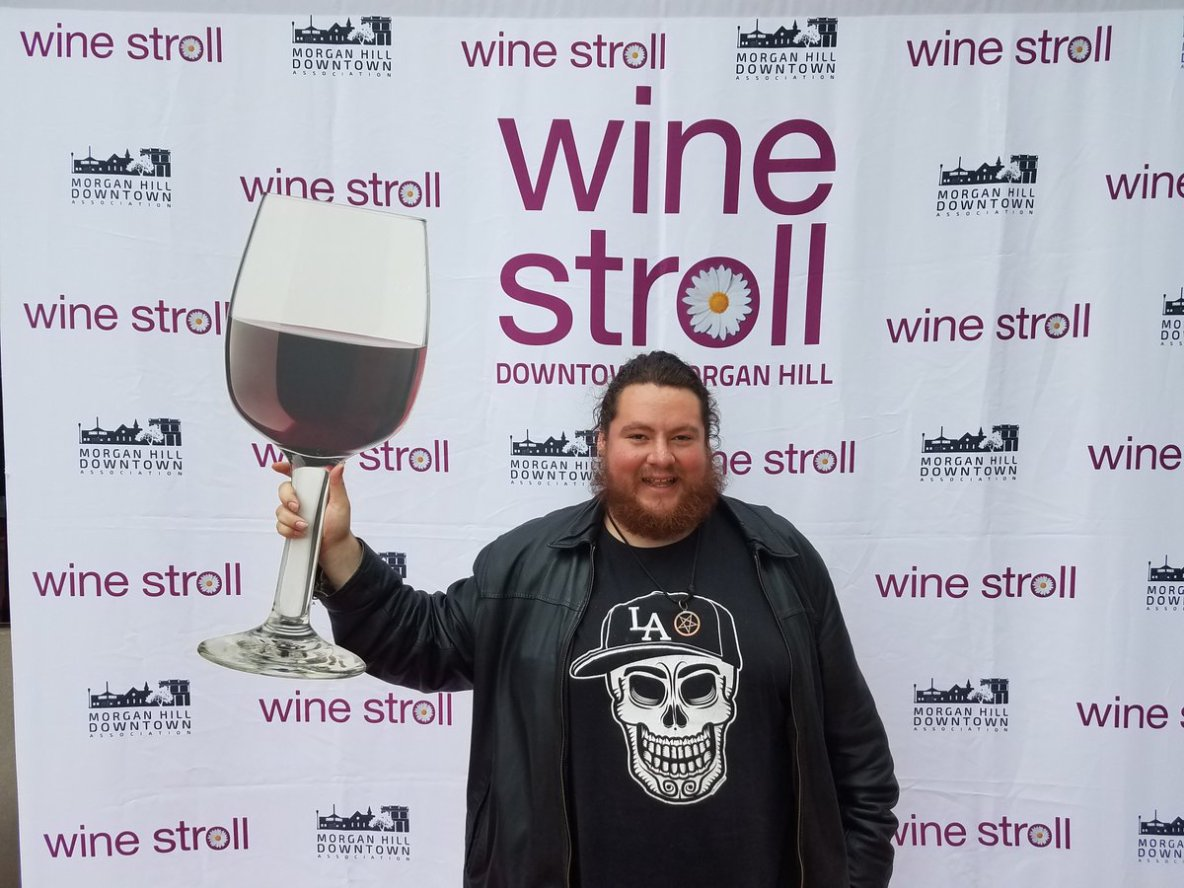 Joseph Carrillo Promoting 2018 Wine Stroll