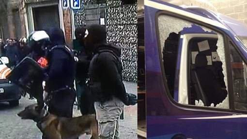 Véhicules vandalisés, insultes, jets de bouteilles: tensions à Molenbeek