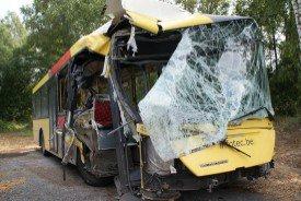 Un chauffeur de bus perd le contrôle de son véhicule à Dison : pas de blessé