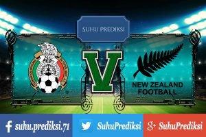 Prediksi Bola Mexico Vs Selandia Baru 21 Juni 2017