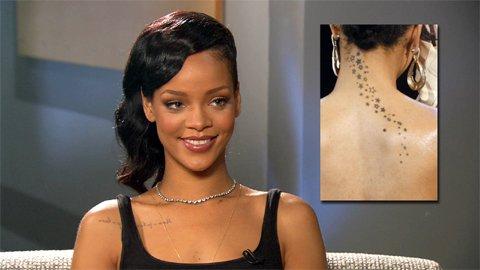 Rihanna Talks Tattoos