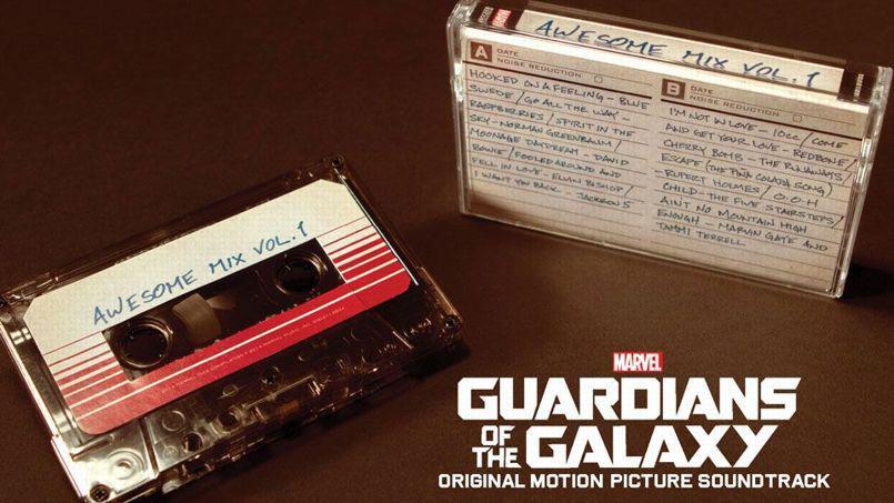 Les Gardiens de la Galaxie : la musique sur cassette audio