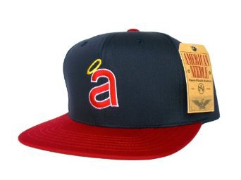 Casquette Neuve Ajustable Officielle MLB - CALIFORNIA ANGELS Snapback - Casquette Bleue Marine/Rouge: Amazon.fr: Bienvenue