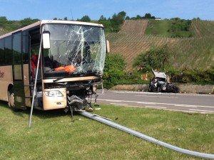 Grave accident ce matin : cinq écoliers blessés