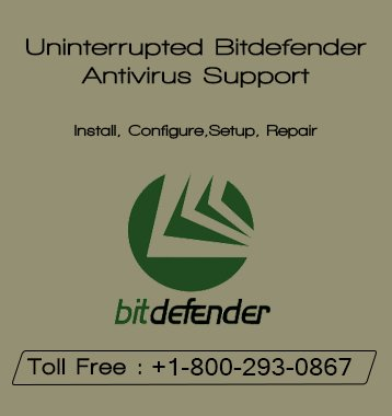 Online Technical Support For Bit-defender Antivirus Users