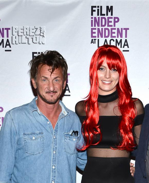 Sean Penn & Leila George D'Onofrio Aren't Hiding Their Love As They've Made Their OFFICIAL Red Carpet Debut!
