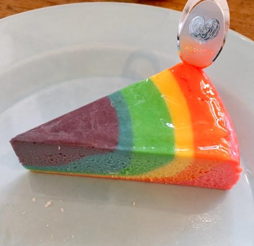 Cantiknya Rainbow Cheese Cake di Jepang - IDNBeritaTerkini