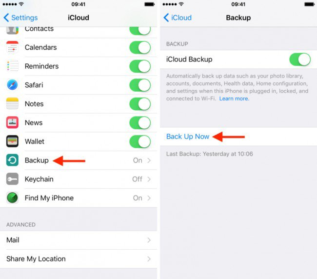 how to download icloud backup