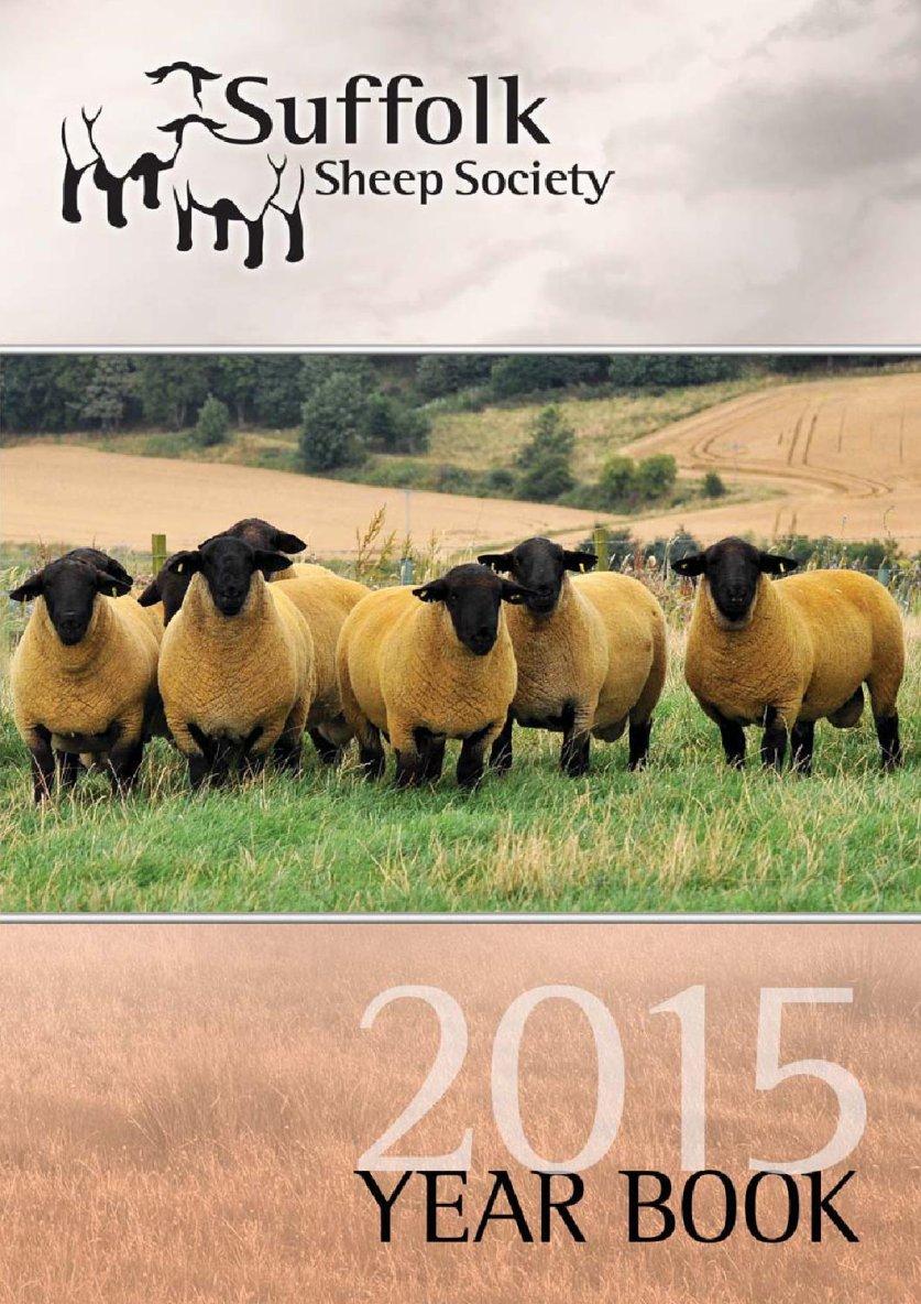 Suffolk Sheep Society Year Book 2015
