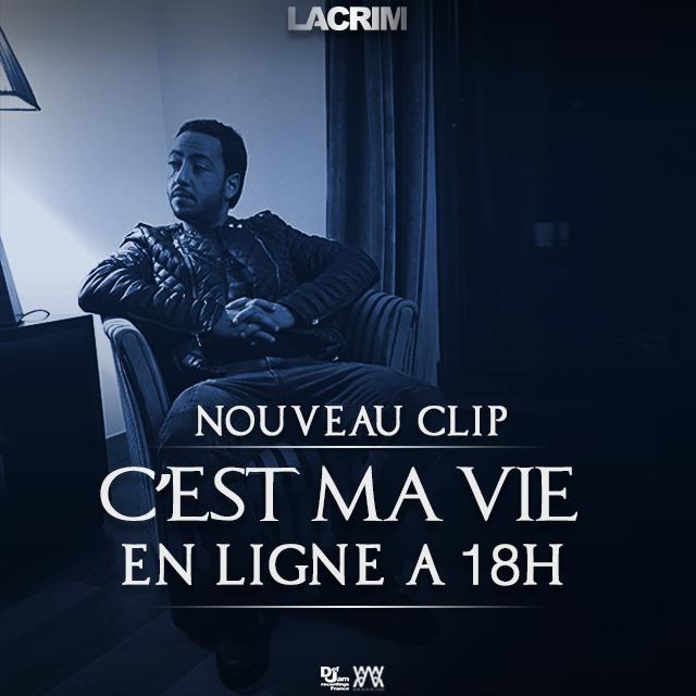 """Découvrez le nouveau clip de Lacrim """" C'est ma vie """""""