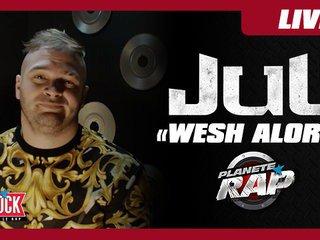 """Jul """"Wesh Alors"""" - Ambiance dans Planète Rap ! - Vidéo Skyrock"""