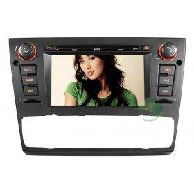Auto DVD Player GPS Navigationssystem für BMW E90 3 Series(2005 2006 2007 2008 2009 2010 2011 2012) Saloon (automatische Klimaanlage+beizbarer Sitz)