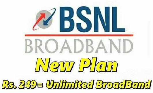 BSNL New BB 249 Plan Change Online for 300GB Data | Wink24News