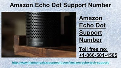 Amazon Echo Dot Support Number +1–866–501–4505