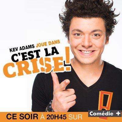 """Kev Adams dans la série"""" C'est la crise!"""""""