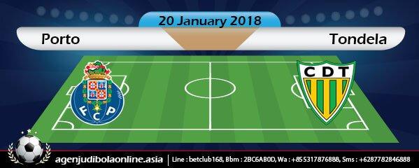 Prediksi Porto Vs Tondela 20 January 2018