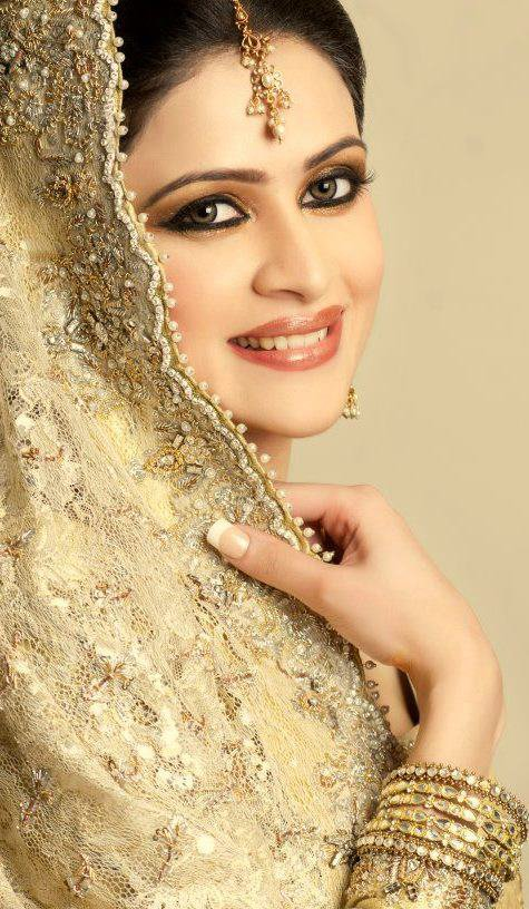 Makeup Style: Pakistani Model Arij Fatima Stunning Bridal Photo shoot 2013