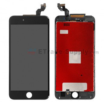 iPhone 6S Plus LCD Screen and Digitizer Assembly with Frame Black - ETrade Supply