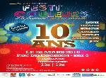 Annonce 'FESTI'COULEURS LES 10 ANS !'