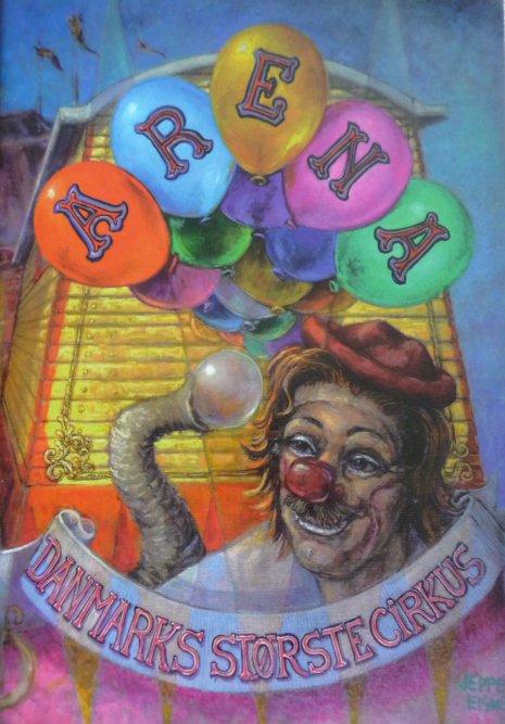 A vendre / On sale / Zu verkaufen / En venta / для продажи :  Programme cirkus ARENA 1998
