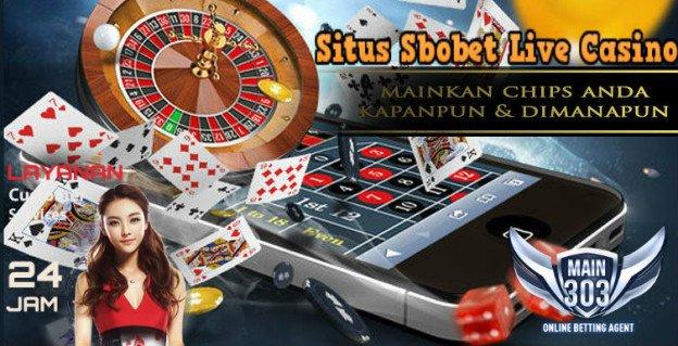 Situs Sbobet Live Casino | Main303 | Agen Bola Casino Tangkas Online Terbaik Indonesia
