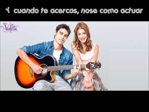 "Violetta : les paroles de ""Te Creo"" (Disney Channel)"