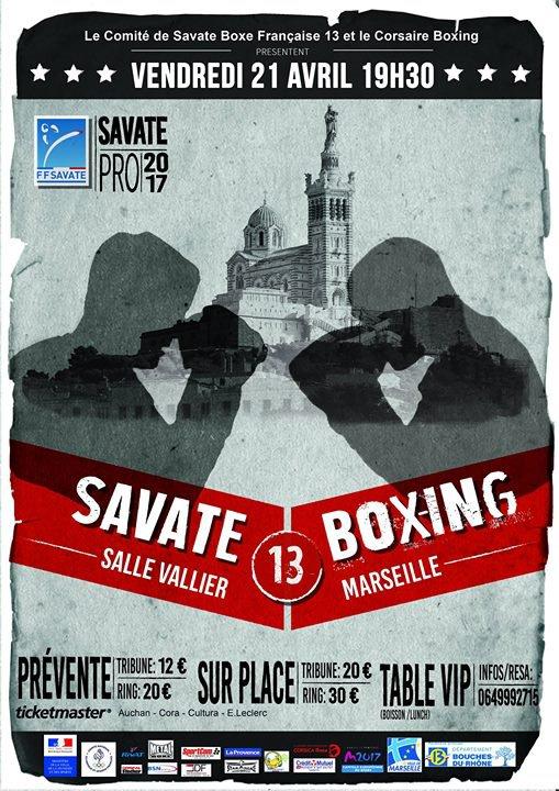 Savate Boxing 13 : des chocs en nombre