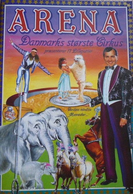 A vendre / On sale / Zu verkaufen / En venta / для продажи :  Programme cirkus ARENA 1993