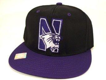 Casquette Neuve Ajustable Officielle NCAA - North Western WILD CAT Snapback - Casquette Noire/Violette: Amazon.fr: Bienvenue