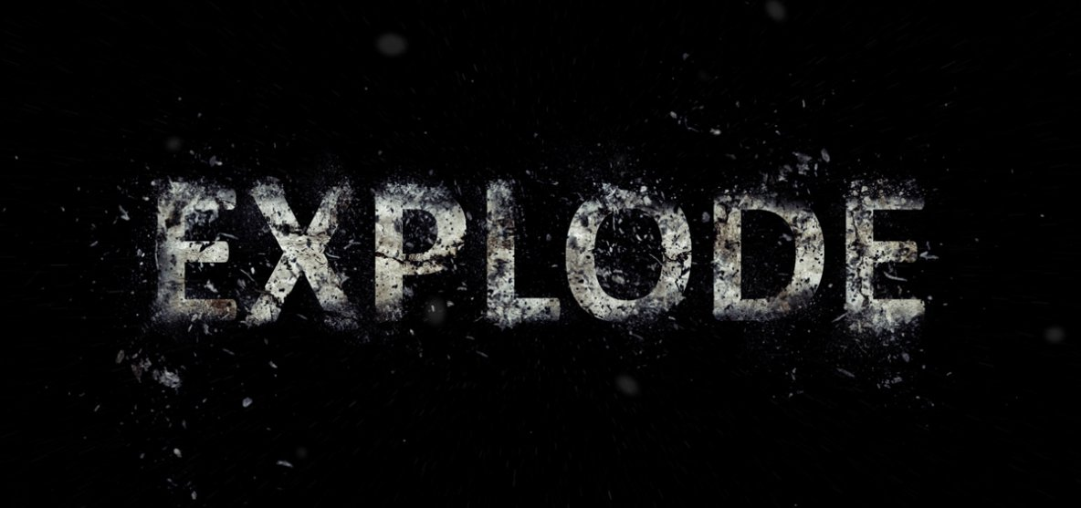 How to create an Exploding Text Effect in Photoshop » Photoshop Tutorials